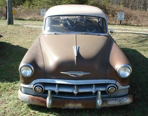 1953 CHEVY BELAIR DELUXE BEL AIR SUN VISORS with MOUNTS PROJECT PART 1954 53 54