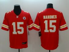 Men's Kansas City Chiefs Patrick Mahomes Red Player Game Jersey
