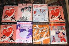 #391,Fabulous Collection Walt Disney Movies Sheet Music