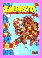 JUNKWAFFEL #3, 1ST PRINTING, 1972, PRINT MINT, VAUGHN BODÉ, UNDERGROUND $.50 Cv