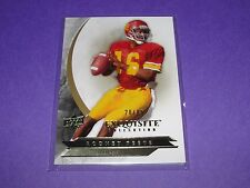 2012 Exquisite RODNEY PEETE #55 Premium Base/85 USC Trojans Philadelphia EAGLES
