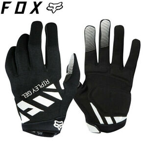 Fox Ripley Gel Womens MTB Gloves - Black White - Sizes M, L