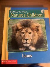 Getting To Know...Nature's Children: Lions and Pandas...Scholastic...HC