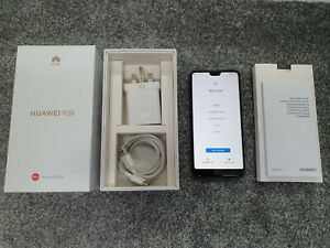 Huawei P20 BLack EML-L09 128GB (EE) 4GB Ram Boxed MINT!