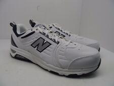 New Balance Men's 856 Rollbar Cross Training Shoes MX856WN White/Navy Size 14D