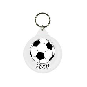 Personalised Football Keychain / Keyring SMALL 25mm