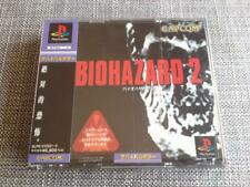 BIOHAZARD 2 RESIDENT EVIL 2CD + OBI + STICKER CAPCOM 1998 JAPAN GAME NTSC ZOMBIE