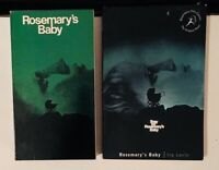 Rosemary's Baby 1968 film (VHS and Movie Tie-in Paperback) Mia Farrow