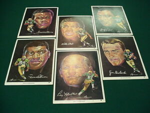 Volpe Packers Portraits Posters ( 6 diff) Nitschke)