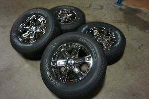 """18"""" 2021 Ford F150 Factory OEM Chrome PVD Wheels Rims Michelin Tires Expedition"""
