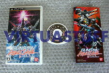 Gundam, Assault Survive, Sony, PSP, JAP, Bandai, Mobile Suit, PS, good condition