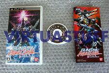 Gundam, Assault Survive, Sony, PSP, JAP, PSX, PS2, Bandai, good condition, raro!