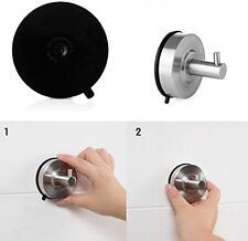 US Suction Cup Hook Single Coat Towel Kitchen Wall Removable 304 Stainless Steel