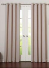 Plaid & Check Room Darkening Grommet Curtain Panels