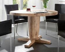 Runde Esstische & Küchentische aus Massivholz