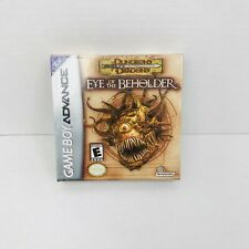 Dungeons & Dragons: Eye of the Beholder (Nintendo Game Boy Advance NEW SEALED