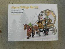Dept 56 Alpine Village Wolfstein Beer Wagon Nib
