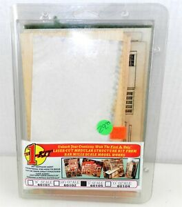 """Bar Mills Scale Model Works S Scale~""""THE 1-KIT"""" LASER-CUT MODULAR STRUCTURE~T215"""
