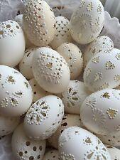 "Czech traditional Easter Eggs ""Kraslice"" (Moravia, Europe)-Chicken egg/Madeira"
