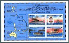 ISOLE COCOS - BF - 1989 - 75° anniversario del combattimento navale