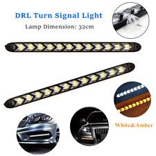 Car Flexible LED DRL Daytime Running Light Strip Driving Daylight Fog Light Lamp