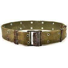 Original French army webbing belt . France legion Y-strap suspenders belt