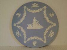 Wedgwood Blue Jasperware 2002 Venus & Dolphins Collector Plate