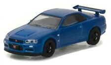 Nissan Skyline GT-R R34  2002 Blue *** Greenlight Tokyo Torque 1:64 OVP