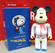Medicom Be@rbrick 2015 The Peanuts Comic 400% Snoopy Astronauts Bearbrick 1pc