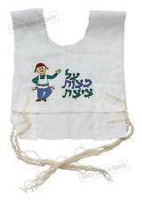 Kosher Jewish Gift Boys Tallit Cotton Israel Tzitzit Kids Tsitsit Katan Tassels