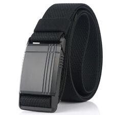 Leisure Sport Sliding Magnetic Buckle Fashionable Wild Casual Men's Nylon Belt