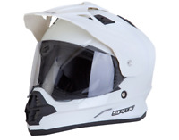 Spada Sting Motorcross Helmet Medium Motorbike White Off Road Crash Full Face M