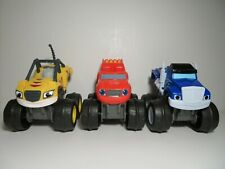 Blaze and the Monster Machines Slam & Go Stripes Crusher Truck Blaze 2014 Mattel
