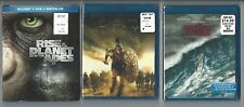 New Blu Ray Lot: Rise of the Planet of the Apes + Troy + The Perfect Storm
