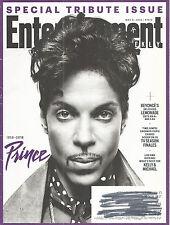 Prince Tribute Entertainment Weekly May 6, 2016 Beyonce Lemonade Kelly Ripa