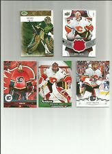 MIKE SMITH RC GAME JERSEY LOT GO FLAMES OILERS ROOKIE