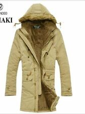 Zip Cotton Parkas Unbranded Coats & Jackets for Men