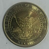 Mike O'Callaghan Nevada Governor Commemorative Coin Great Seal 34mm 1 1/4""
