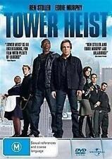 TOWER HEIST Ben Stiller, Eddie Murphy, Brett Ratner, Alan Alda DVD NEW