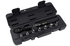 """[US SELLER] NEW Bicycle Cycle 1/4"""" Torque Wrench Tool w/ Allen Key Case Bits -CA"""