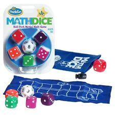 ThinkFun Math Dice Jr. , New, Free Shipping