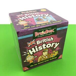BrainBox British History Game Trivia Card Memory Observation Kid Skill Challenge