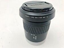 Minolta 28-85mm f3.5-4.5 AF lens in good condition