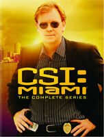 CSI: Miami: Complete Series [New DVD] Boxed Set, Dolby, Dubbed, Repackaged, Sl