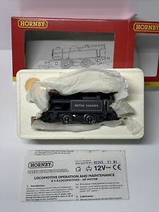 Hornby R2245 OO 0-4-0 T Class D Loco #4 BR Black 2001 Collector Club Boxed Mint