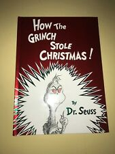 How the Grinch Stole Christmas! Dr. Seuss Hard Cover NEW Misprint Upside Down 97