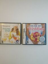 Dream Day: Wedding Destinations 2009 NDS game and Imagine Master Chef NDS 2007