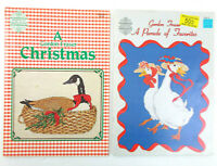 Lot of CROSS STITCH - GORDON FRASER -  Christmas & A Parade of Favorites Bears +