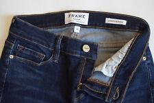NWOT FRAME denim Prince Street LSJ665 blue skinny jeans womens size 26