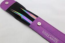 Multicolor Plasma Tweezers Eyelash Eyebrow Extensions Jeweler Craft
